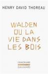 """Couverture du livre : """"Walden ou la vie dans les bois"""""""