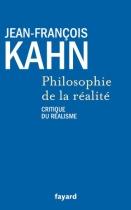 """Couverture du livre : """"Philosophie de la réalité"""""""
