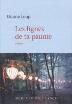 """Couverture du livre : """"Les lignes de ta paume"""""""
