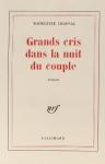 """Couverture du livre : """"Grands cris dans la nuit du couple"""""""