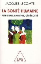 """Couverture du livre : """"La bonté humaine"""""""
