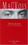 """Couverture du livre : """"Don Juan ou la vie de Byron"""""""