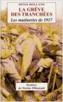 """Couverture du livre : """"La grève des tranchées"""""""