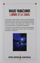 """Couverture du livre : """"L'ordre et le chaos"""""""