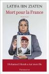"""Couverture du livre : """"Mort pour la France"""""""