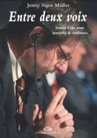 """Couverture du livre : """"Entre deux voix"""""""