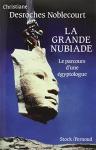 """Couverture du livre : """"La grande nubiade ou Le parcours d'une égyptologue"""""""