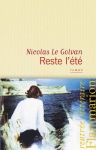 """Couverture du livre : """"Reste l'été"""""""