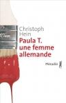"""Couverture du livre : """"Paula T., une femme allemande"""""""