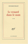 """Couverture du livre : """"Le renard dans le nom"""""""