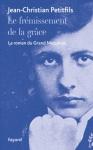 """Couverture du livre : """"Le frémissement de la grâce"""""""