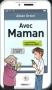 """Couverture du livre : """"Avec Maman"""""""