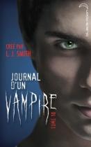 """Couverture du livre : """"Journal d'un vampire"""""""