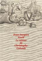 """Couverture du livre : """"Le retour de Christophe Colomb"""""""