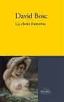 """Couverture du livre : """"La claire fontaine"""""""