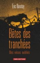 """Couverture du livre : """"Bêtes des tranchées"""""""