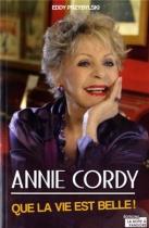 """Couverture du livre : """"Annie Cordy"""""""