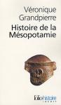 """Couverture du livre : """"Histoire de la Mésopotamie"""""""