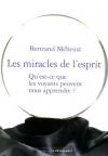 """Couverture du livre : """"Les miracles de l'esprit"""""""