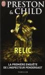 """Couverture du livre : """"Relic"""""""