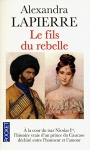 """Couverture du livre : """"Le fils du rebelle"""""""