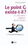 """Couverture du livre : """"Le point G existe-t-il ?"""""""