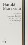 """Couverture du livre : """"L'incolore Tsukuru Tazaki et ses années de pèlerinage"""""""