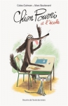 """Couverture du livre : """"Chien Pourri à l'école"""""""