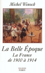 """Couverture du livre : """"La Belle Époque"""""""