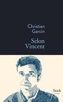 """Couverture du livre : """"Selon Vincent"""""""