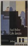 """Couverture du livre : """"Un larcin"""""""