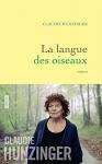 """Couverture du livre : """"La langue des oiseaux"""""""