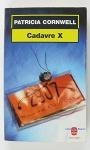 """Couverture du livre : """"Cadavre X"""""""