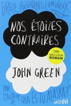 """Couverture du livre : """"Nos étoiles contraires"""""""
