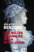 """Couverture du livre : """"Ces belles inconnues de la Révolution"""""""