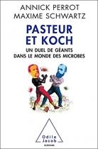 """Couverture du livre : """"Pasteur et Koch"""""""