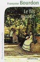 """Couverture du livre : """"Le fils maudit"""""""