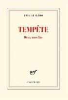 """Couverture du livre : """"Tempête"""""""