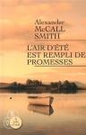 """Couverture du livre : """"L'air d'été est rempli de promesses"""""""