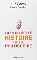"""Couverture du livre : """"La plus belle histoire de la philosophie"""""""