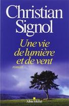 """Couverture du livre : """"Une vie de lumière et de vent"""""""