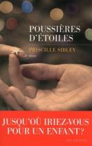 """Couverture du livre : """"Poussières d'étoiles"""""""
