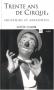 """Couverture du livre : """"Trente ans de cirque"""""""