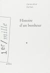 """Couverture du livre : """"Histoire d'un bonheur"""""""