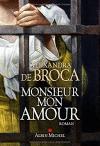 """Couverture du livre : """"Monsieur mon amour"""""""