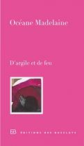 """Couverture du livre : """"D'argile et de feu"""""""