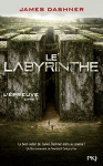 """Couverture du livre : """"Le labyrinthe"""""""