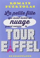 """Couverture du livre : """"La petite fille qui avait avalé un nuage grand comme la tour Eiffel"""""""