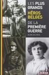 """Couverture du livre : """"Les plus grands héros belges de la première guerre"""""""