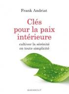 """Couverture du livre : """"Clés pour la paix intérieure"""""""
